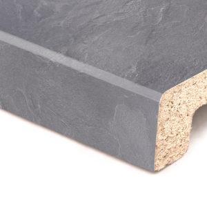Подоконник Topalit Тёмный камень (231) Mono Design