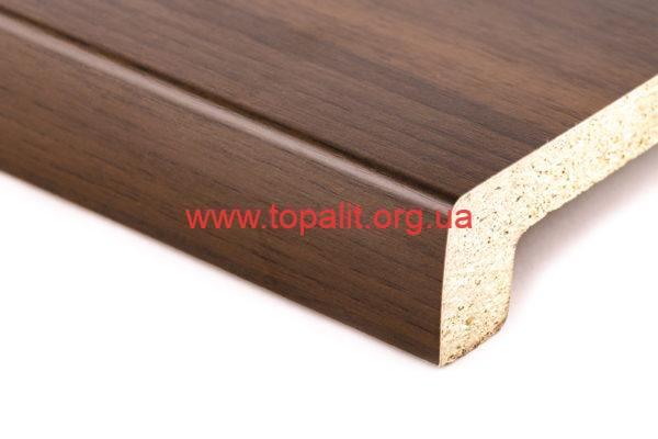 Подоконник для лоджии Topalit Орех (202) Mono Design купить в Киеве