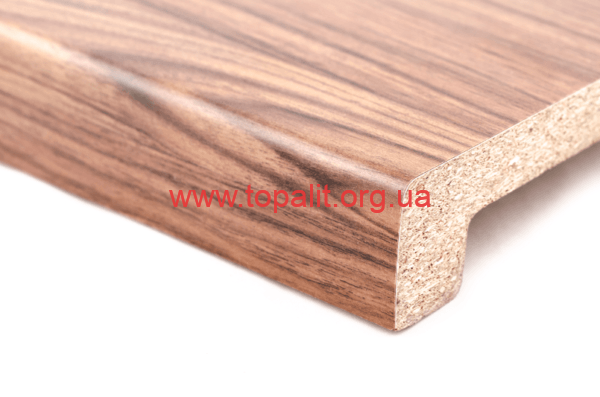 Подоконник австрийской фирмы Topalit Тик (009) Mono Design купить в интернет магазине